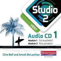 Studio 2 Vert Audio CDs (Pack of 3) (11-14 French) - Studio 11-14 French (CD-Audio)