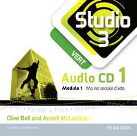 Studio 3 Vert Audio CDs (pack of 3) (11-14 French) - Studio 11-14 French (CD-Audio)