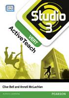 Studio 3 vert Active Teach (11-14 French)CDROM - Studio (CD-ROM)