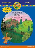 Jamboree Storytime Level A: Five Little Ducks Activity Book with Stickers - Jamboree Storytime