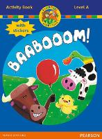Jamboree Storytime Level A: Baabooom Activity Book with Stickers - Jamboree Storytime