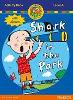 Jamboree Storytime Level A: Shark in the Park Activity Book with Stickers - Jamboree Storytime