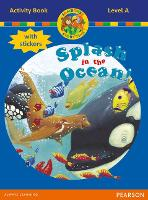 Jamboree Storytime Level A: Splash in the Ocean Activity Book with Stickers - Jamboree Storytime