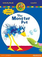 Jamboree Storytime Level B: The Monster Pet Activity Book with Stickers - Jamboree Storytime