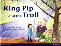 Bug Club Guided Fiction Reception Red C King Pip and the Troll - BUG CLUB (Paperback)