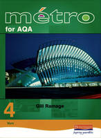 Metro 4 for AQA Foundation Student Book - Metro 4 for AQA (Paperback)