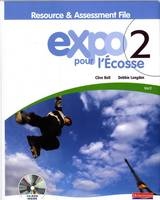 Expo Pour l'Ecosse Vert Resource and Assessment File (with CD-ROM & Audio CD) - Expo Pour l'Ecosse