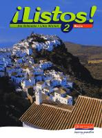 Listos! 2 Rojo Pupils Book - Listos for 11-14 (Paperback)