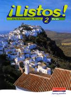 Listos! 2 Verde Pupil Book - Listos for 11-14 (Paperback)