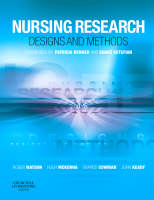 Nursing Research: Designs and Methods (Paperback)
