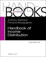 Handbook of Income Distribution. Vol 2B: Volume 2B (Hardback)