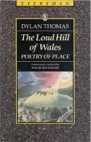 The Loud Hill Of Wales: Poetry of Place (Paperback)