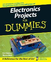 Electronics Projects For Dummies (Paperback)