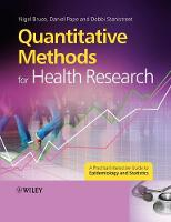 Quantitative Methods for Health Research: A Practical Interactive Guide to Epidemiology and Statistics (Paperback)
