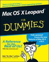 Mac OS X Leopard For Dummies (Paperback)