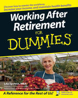 Working After Retirement for Dummies (Paperback)