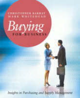 Buying for Business: Insights in Purchasing and Supply Management (Paperback)