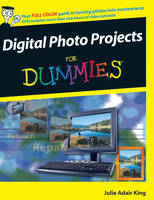 Digital Photo Projects For Dummies (Paperback)