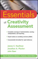 Essentials of Creativity Assessment - Essentials of Psychological Assessment (Paperback)