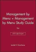 Management by Menu, 4e & Management by Menu Study Guide Set (Hardback)