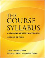 The Course Syllabus: A Learning-Centered Approach - JB - Anker (Paperback)