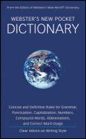 Webster's New Pocket Dictionary (Paperback)