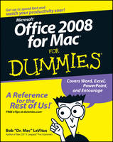 Office 2008 for Mac For Dummies (Paperback)