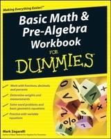 Basic Math and Pre-Algebra Workbook For Dummies (Paperback)