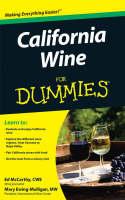 California Wine For Dummies (Paperback)
