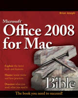 Microsoft Office 2008 for Mac Bible - Bible (Paperback)