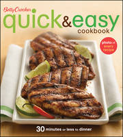 Betty Crocker Quick and Easy Cookbook (Paperback)