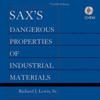 Sax's Dangerous Properties of Industrial Materials, Set CD-ROM (CD-ROM)