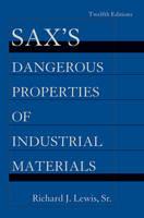 Sax's Dangerous Properties of Industrial Materials, 5 Volume Set (Hardback)