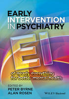 Early Intervention in Psychiatry: EI of Nearly Everything for Better Mental Health (Hardback)