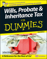 Wills, Probate, and Inheritance Tax For Dummies