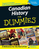 Canadian History for Dummies (Paperback)