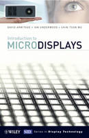 Introduction to Microdisplays - Wiley Series in Display Technology (Hardback)