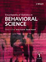 Encyclopedia of Statistics in Behavioral Science (Hardback)