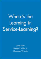 Where's the Learning in Service-Learning? (Paperback)
