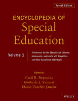 Encyclopedia of Special Education, Volume 1: A Reference for the Education of Children, Adolescents, and Adults Disabilities and Other Exceptional Individuals (Hardback)