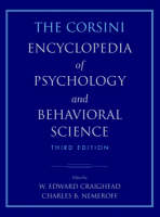 The Corsini Encyclopedia of Psychology and Behavioral Science, 4 Volume Set (Paperback)