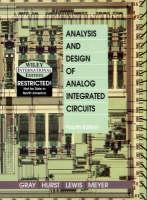 Analysis and Design of Analog Integrated Circuits (Hardback)