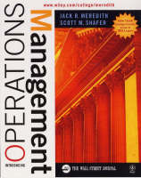 Introducing Operations Management - Wall Street Journal Handbook (Paperback)