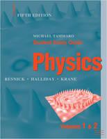 Student Study Guide to accompany Physics, 5e (Paperback)
