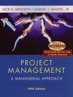 Project Management: A Managerial Approach (Hardback)