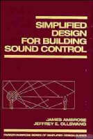 Simplified Design for Building Sound Control (Hardback)
