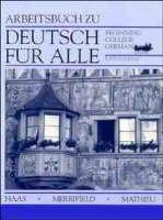 Deutsch fur Alle: Beginning College German Workbook (Paperback)