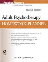 Adult Psychotherapy Homework Planner - PracticePlanners