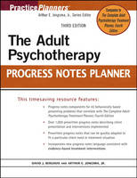 The Adult Psychotherapy Progress Notes Planner - PracticePlanners (Paperback)