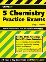 CliffsAP 5 Chemistry Practice Exams (Paperback)